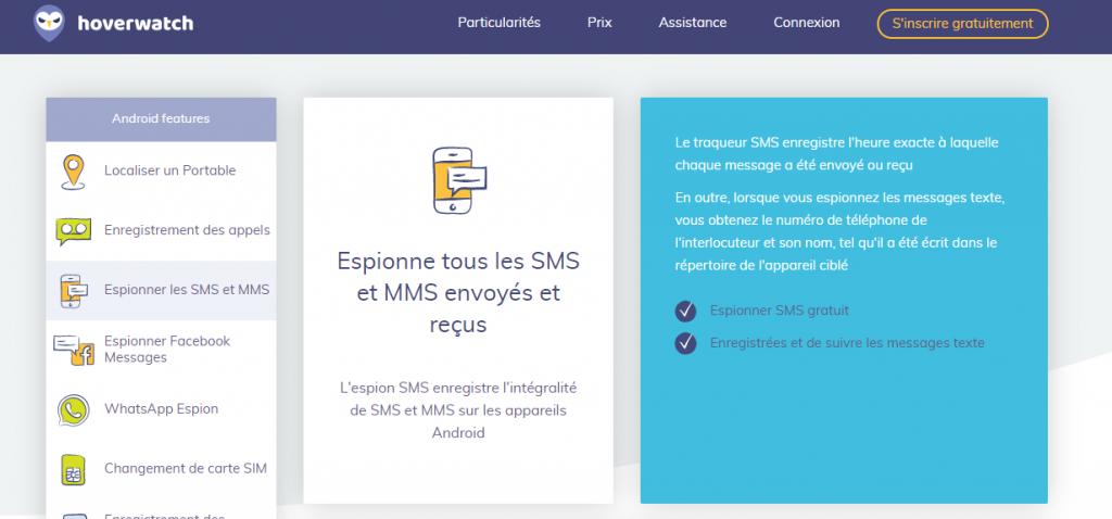 Avis sur le logiciel espion SMS hoverwatch