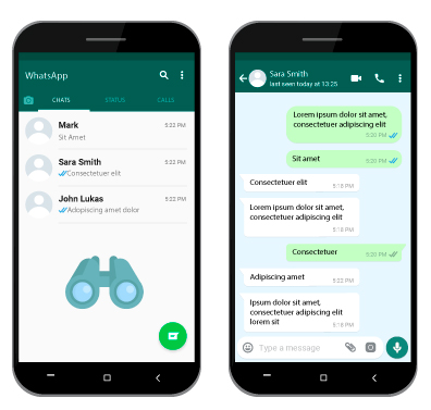 Logiciel espion WhatsApp pour espionner un compte