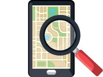encontrar datos de geolocalización